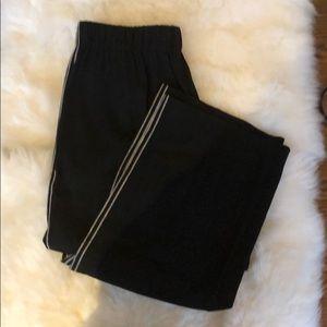 Vince black trouser pants.